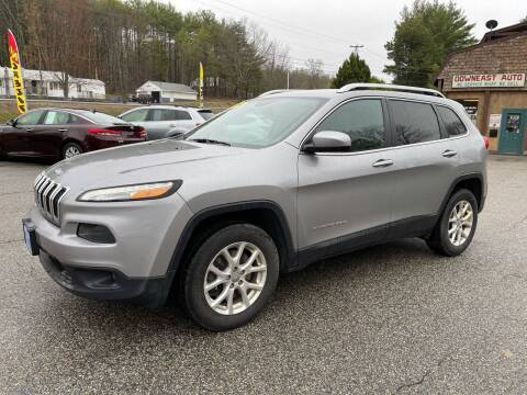 2016 Jeep Cherokee for sale at Downeast Auto Inc in South Waterboro ME