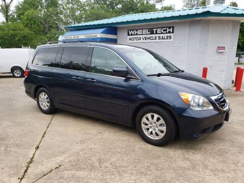 2010 Honda Odyssey for sale at Wheel Tech Motor Vehicle Sales in Maylene AL
