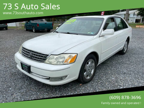 2004 Toyota Avalon for sale at 73 S Auto Sales in Hammonton NJ