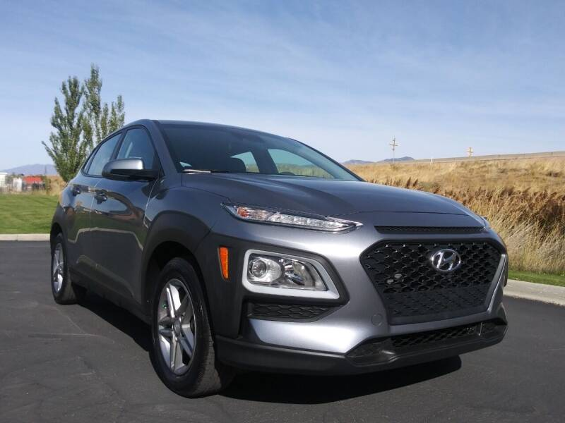 2019 Hyundai Kona for sale at AUTOMOTIVE SOLUTIONS in Salt Lake City UT