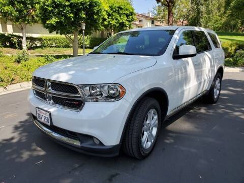 2013 Dodge Durango for sale at E MOTORCARS in Fullerton CA