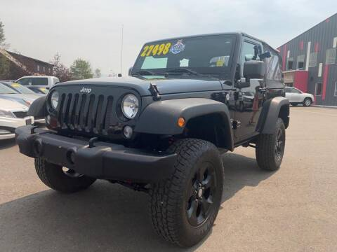 2018 Jeep Wrangler JK for sale at Snyder Motors Inc in Bozeman MT