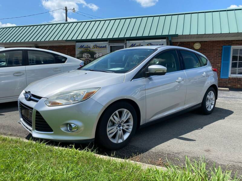 2012 Ford Focus for sale at Main Street Auto LLC in King NC