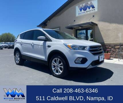 2017 Ford Escape for sale at Western Mountain Bus & Auto Sales in Nampa ID