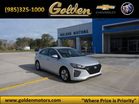 2017 Hyundai Ioniq Hybrid for sale at GOLDEN MOTORS in Cut Off LA