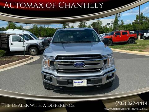 2019 Ford F-150 for sale at Automax of Chantilly in Chantilly VA