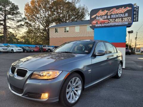 2011 BMW 3 Series for sale at Auto Outlet Sales and Rentals in Norfolk VA