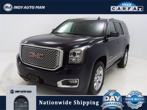 2017 GMC Yukon for sale at INDY AUTO MAN in Indianapolis IN