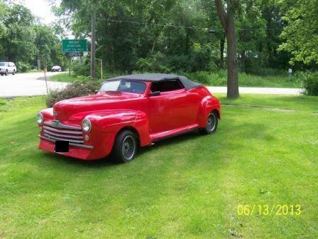1947 Ford Roadster for sale at Haggle Me Classics in Hobart IN