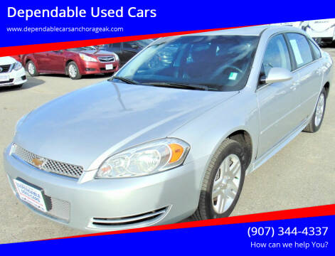 2016 Chevrolet Impala Limited for sale at Dependable Used Cars in Anchorage AK
