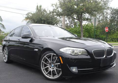 2011 BMW 5 Series for sale at Maxicars Auto Sales in West Park FL