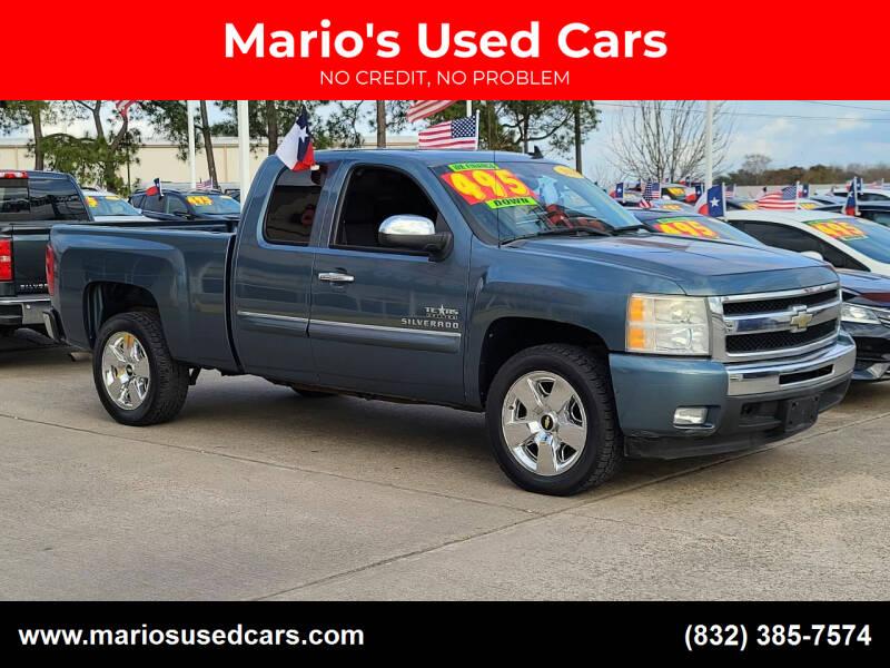 2011 Chevrolet Silverado 1500 for sale at Mario's Used Cars in Houston TX