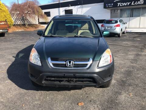 2003 Honda CR-V for sale at Tony Luis Auto Sales & SVC in Cumberland RI