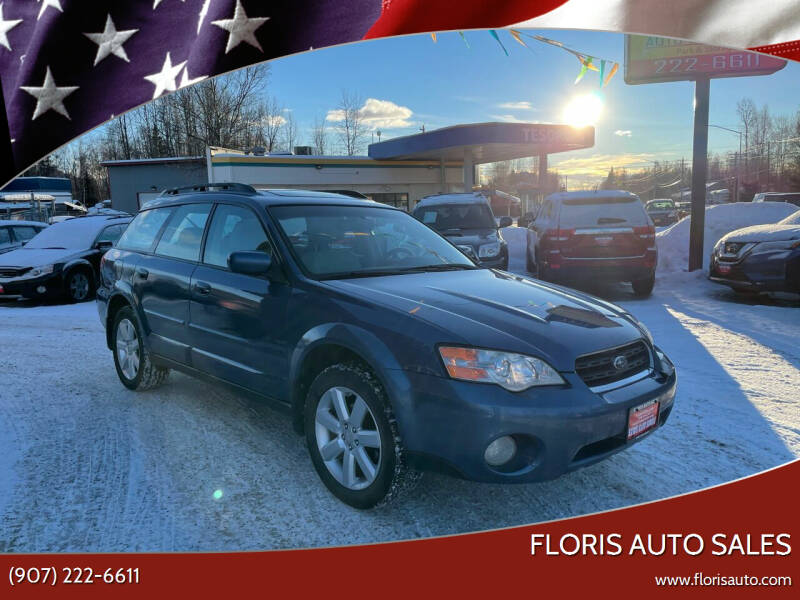 2007 Subaru Outback for sale at FLORIS AUTO SALES in Anchorage AK