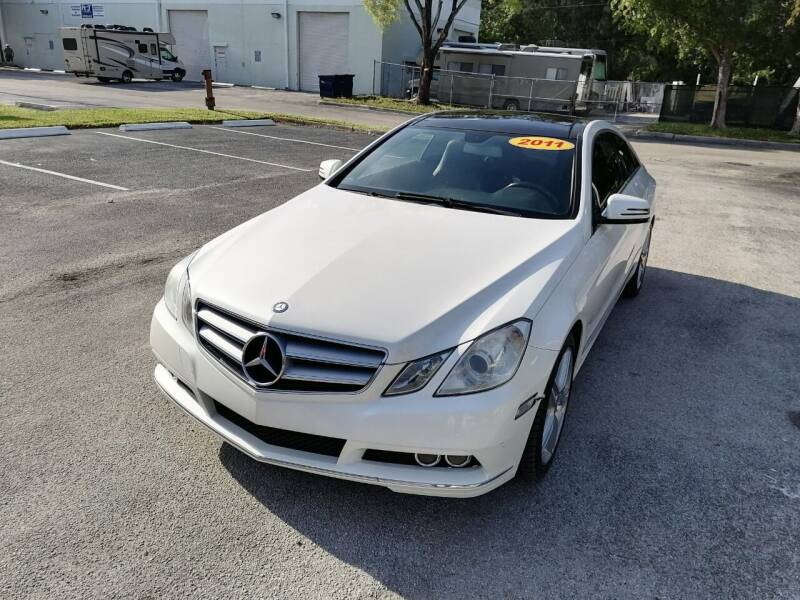 2011 Mercedes-Benz E-Class for sale at Best Price Car Dealer in Hallandale Beach FL