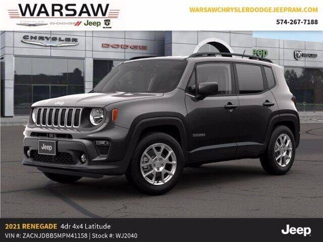 2021 Jeep Renegade for sale in Warsaw, IN