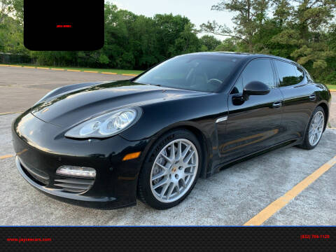 2013 Porsche Panamera for sale at JAYCEE IMPORTS in Houston TX