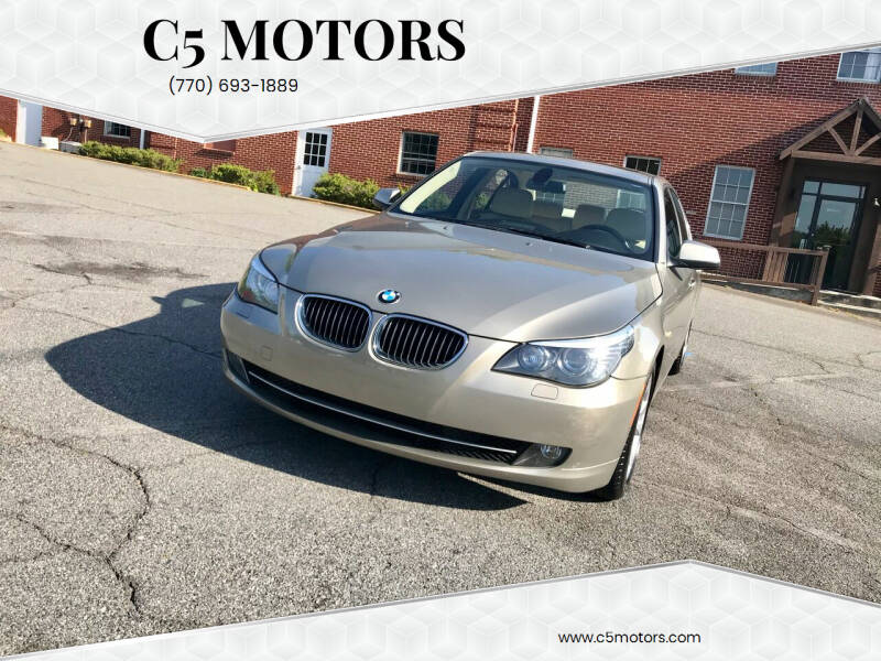 2010 BMW 5 Series for sale at C5 Motors in Marietta GA