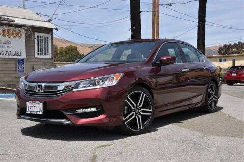2016 Honda Accord for sale at AMC Auto Sales, Inc. in Fremont CA