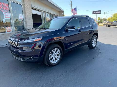 2014 Jeep Cherokee for sale at Rick Herter Motors in Loves Park IL