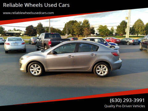 2010 Mazda MAZDA3 for sale at Reliable Wheels Used Cars in West Chicago IL