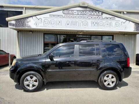 2011 Honda Pilot for sale at Don Auto World in Houston TX