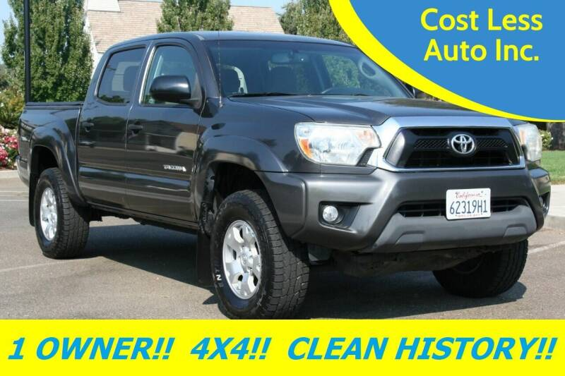 2012 Toyota Tacoma for sale at Cost Less Auto Inc. in Rocklin CA