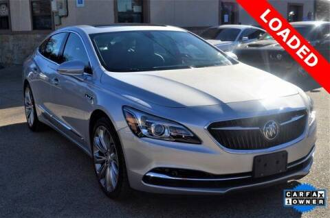2017 Buick LaCrosse for sale at LAKESIDE MOTORS, INC. in Sachse TX