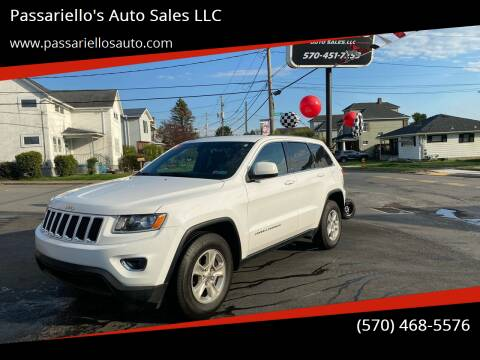 2014 Jeep Grand Cherokee for sale at Passariello's Auto Sales LLC in Old Forge PA
