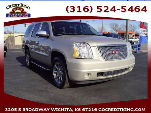 2008 GMC Yukon for sale at Credit King Auto Sales in Wichita KS