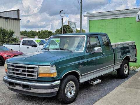 1996 Ford F-150 for sale at Caesars Auto Sales in Longwood FL