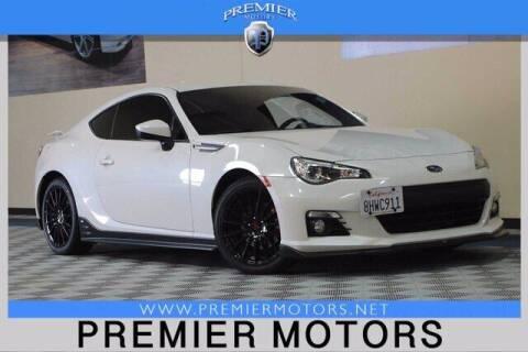 2015 Subaru BRZ for sale at Premier Motors in Hayward CA