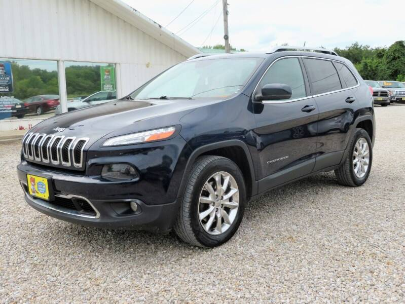 2015 Jeep Cherokee for sale at Low Cost Cars in Circleville OH