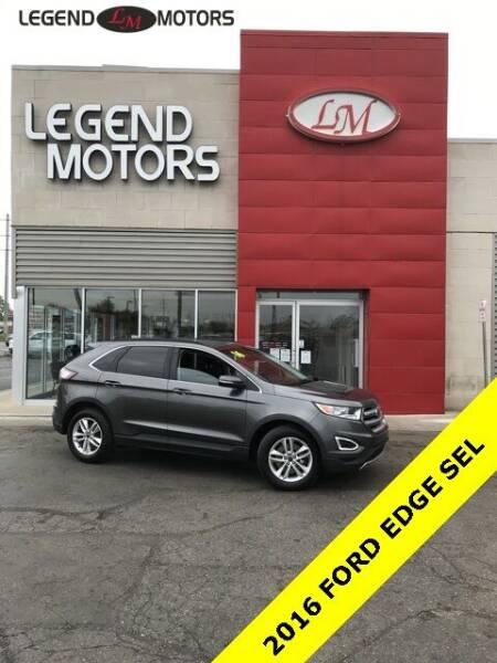 2016 Ford Edge for sale at Legend Motors of Detroit - Legend Motors of Ferndale in Ferndale MI