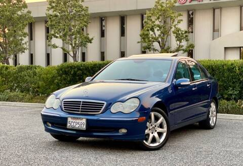 2003 Mercedes-Benz C-Class for sale at Carfornia in San Jose CA