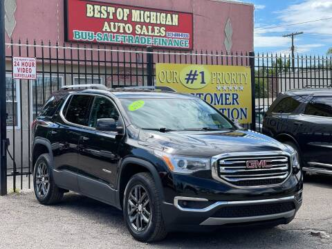 2018 GMC Acadia for sale at Best of Michigan Auto Sales in Detroit MI