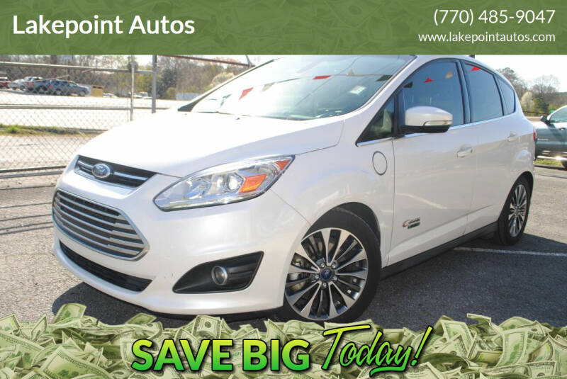 2017 Ford C-MAX Energi for sale at Lakepoint Autos in Cartersville GA
