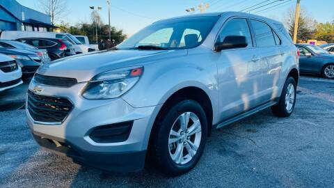 2017 Chevrolet Equinox for sale at Capital Motors in Raleigh NC