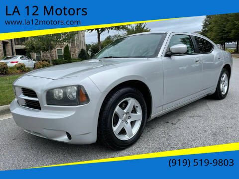 2010 Dodge Charger for sale at LA 12 Motors in Durham NC