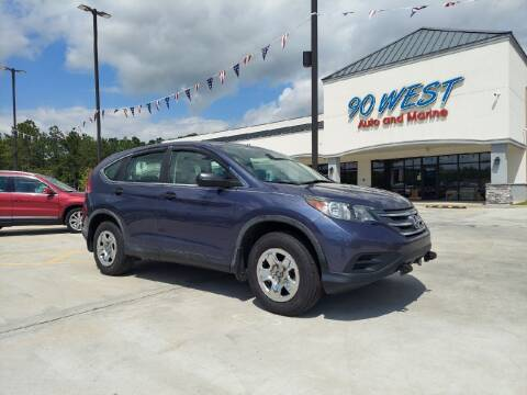 2013 Honda CR-V for sale at 90 West Auto & Marine Inc in Mobile AL