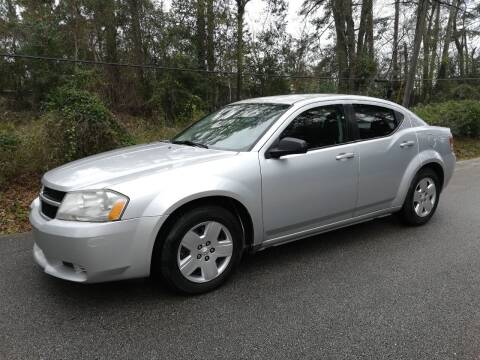 2010 Dodge Avenger for sale at Low Price Autos in Beaumont TX