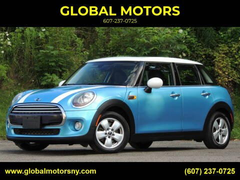 2015 MINI Hardtop 4 Door for sale at GLOBAL MOTORS in Binghamton NY