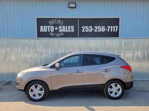 2011 Hyundai Tucson for sale at Austin's Auto Sales in Edgewood WA