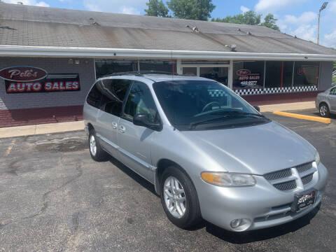 2000 Dodge Grand Caravan for sale at PETE'S AUTO SALES LLC - Dayton in Dayton OH