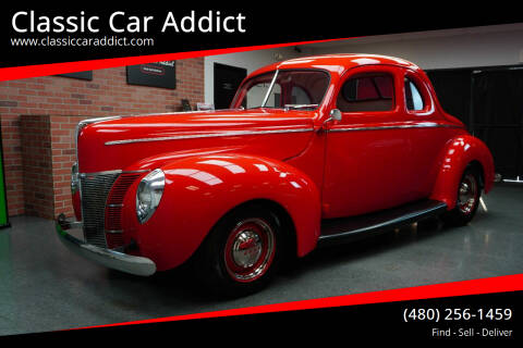 1940 Ford Deluxe for sale at Classic Car Addict in Mesa AZ