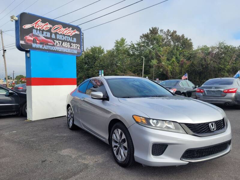 2014 Honda Accord for sale at Auto Outlet Sales and Rentals in Norfolk VA