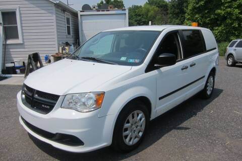 2014 RAM C/V for sale at K & R Auto Sales,Inc in Quakertown PA