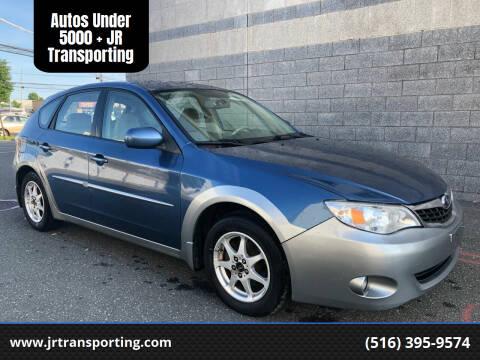 2008 Subaru Impreza for sale at Autos Under 5000 + JR Transporting in Island Park NY
