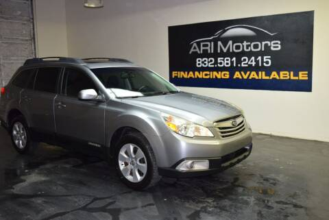 2011 Subaru Outback for sale at ARI Motors in Houston TX