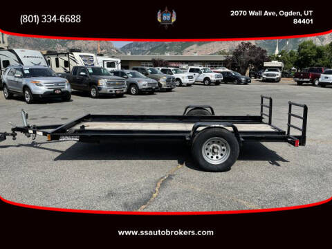 2013 EZ-TRAIL FLAT BED for sale at S S Auto Brokers in Ogden UT